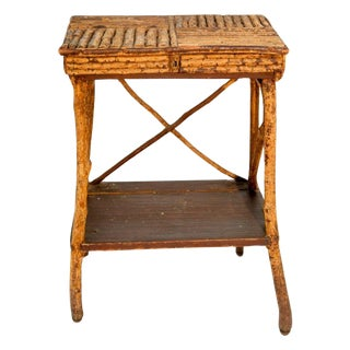 1920s Twig Side Table