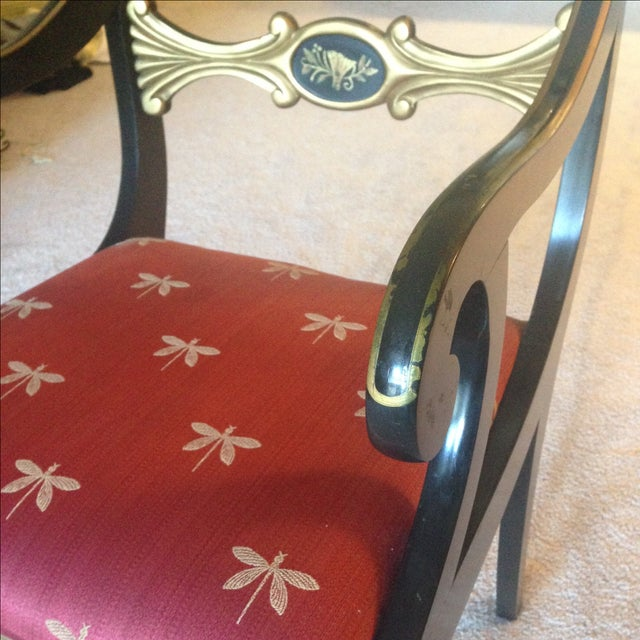 Hand-Painted Chairs - Set of 5 - Image 6 of 7