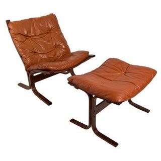 Siesta Rosewood Lounge Chair & Ottoman