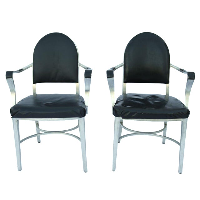 General Fireproofing Co. Cruise Ship Chairs - Pair - Image 1 of 10