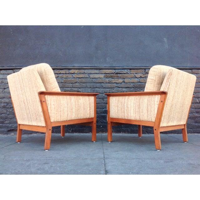 Mid-Century Danish Teak Danish Chairs - A Pair - Image 6 of 7