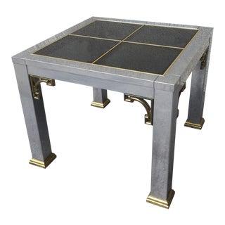 Mastercraft Mid-Century Chrome End Table