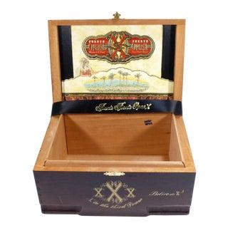 Fuente Fuente Opus X Wood Cigar Box Rare Estate Reserve