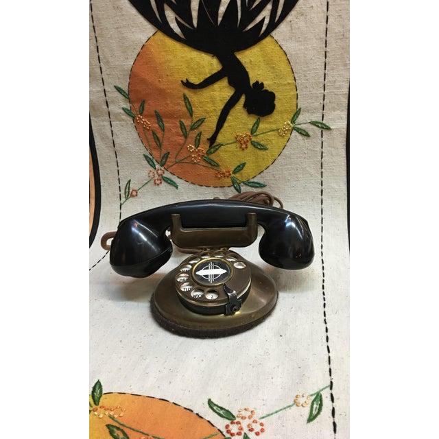 Vintage 1930's Deco Telephone - Image 6 of 6