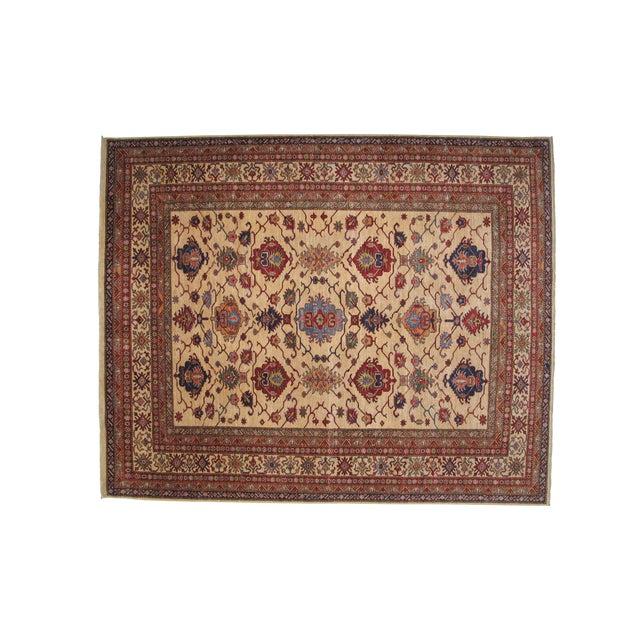"""Leon Banilivi Super Kazak Carpet -- 8' x 9'10"""" - Image 1 of 5"""