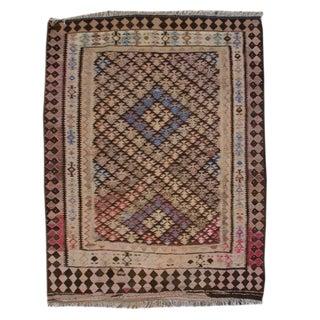Early 20th Century Persian Qazvin Kilim