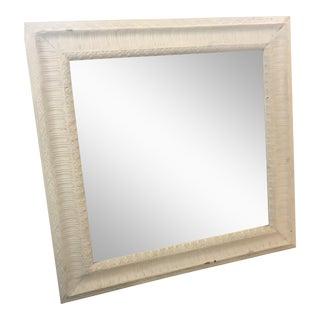Vintage Textured Frame Mirror