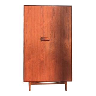 Rare danish teak armoire wardrobe by G-Plan
