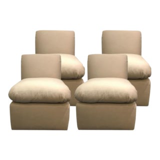 J. Robert Scott Plaza Slipper Chairs - Set of 4