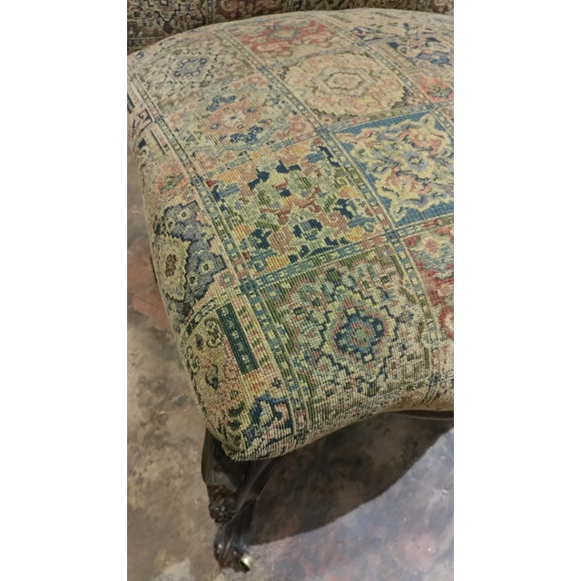 19th Century Victorian Tapestry Chairs - A Pair - Image 10 of 10