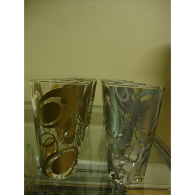 Mid-Century Italian Cerve Beer Glasses - Set of 8 - Image 3 of 8