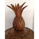 Image of Vintage Teak Pineapple Server