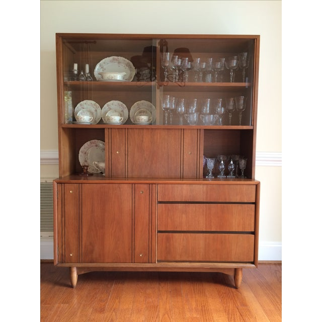 Kroehler Mid Century Modern China Cabinet Chairish