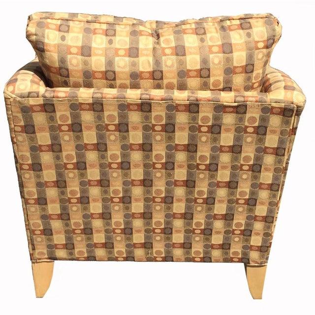 Beige & Brown Craft Master Club Chair - Image 4 of 6