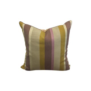 Modern Striped Linen Pillow