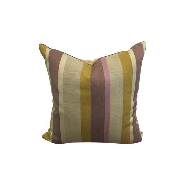 Modern Striped Pillows : Modern Striped Linen Pillow Chairish