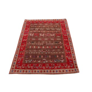 Southwest Persian Rug - 3′11″ × 5′6″