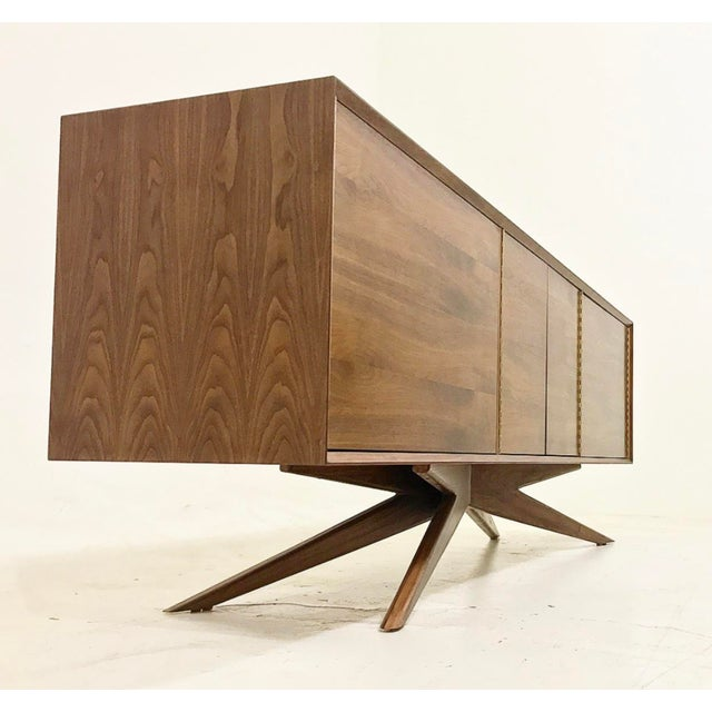 Brass Accent Credenza - Image 3 of 6