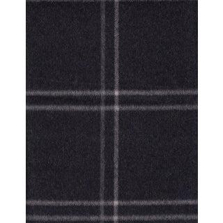 Ralph Lauren Harrison Tattersal Wool in Charcoal - 3.125 Yards