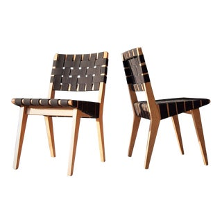 Vintage Jens Risom Chairs - A Pair