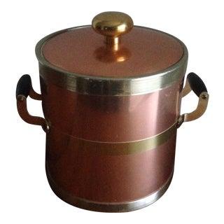 Vintage Brass/Copper Ice Bucket