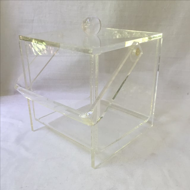 Vintage Lucite Ice Bucket - Image 4 of 6