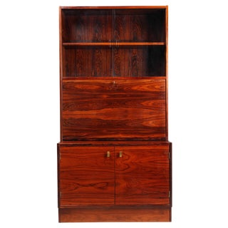 Retro 1970's Danish Rosewood Bar Cabinet