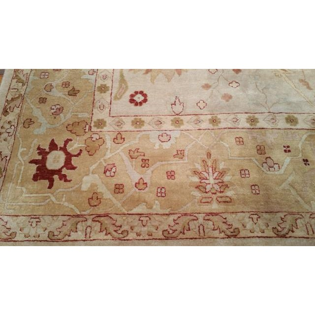 Traditional Hand Made Knotted Rug - 12x18 - Image 3 of 4