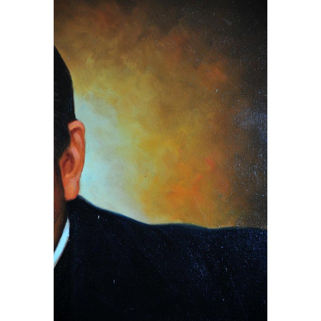 Image of Winston Churchill Portrait Oil Painting