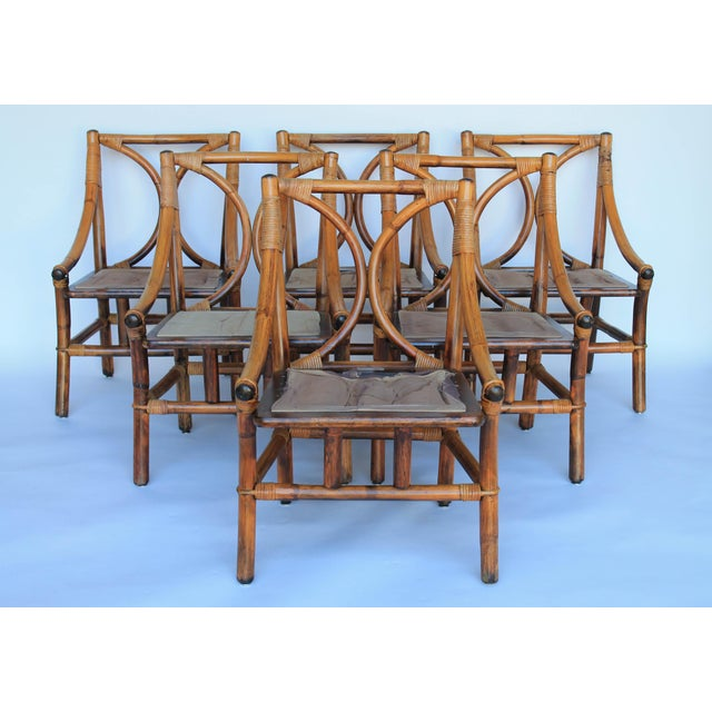 Ficks Reed Dining Chairs - Set of 6 - Image 2 of 8