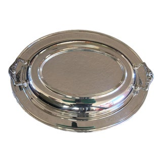 Vintage Silver Plated Divided Serving Dish - 3 Pieces