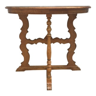 Drexel Heritage Demilune End Table/Accent Table