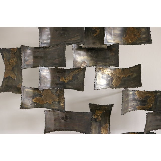 Image of Mid-Century Degroot Brutalist Wall Sculprture