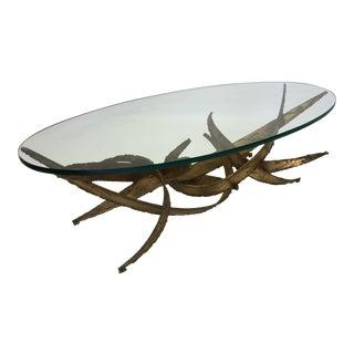 Silas Seandel Brutalist Sculpture Coffee Table