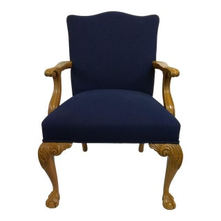 Blue 'Ball in Claw' Chair