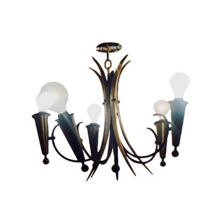 Harlequin-Style French Chandelier