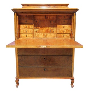 Biedermeier Drop Front Secretaire