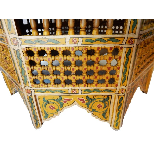 Moroccan 8 Sided Coffee Table - Image 5 of 10