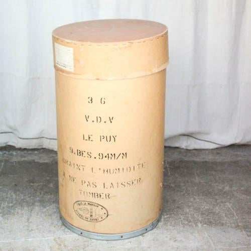 Image of Vintage French Statement Tissue Box