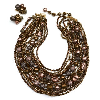 Hattie Carnegie Glam Bead Set