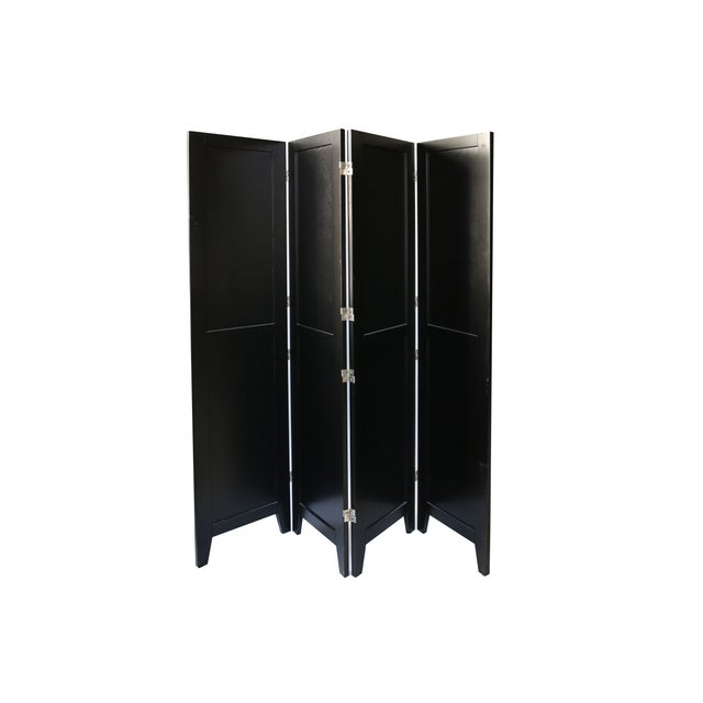 Image of Classic Black Room Divider