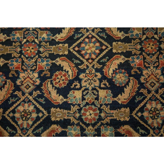 Image of Vintage Malayer Square Rug - 5' x 6'2""