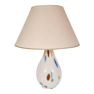 Murano Glass Table Lamp by Dino Martens for Aureliano Toso, Italy, circa 1960