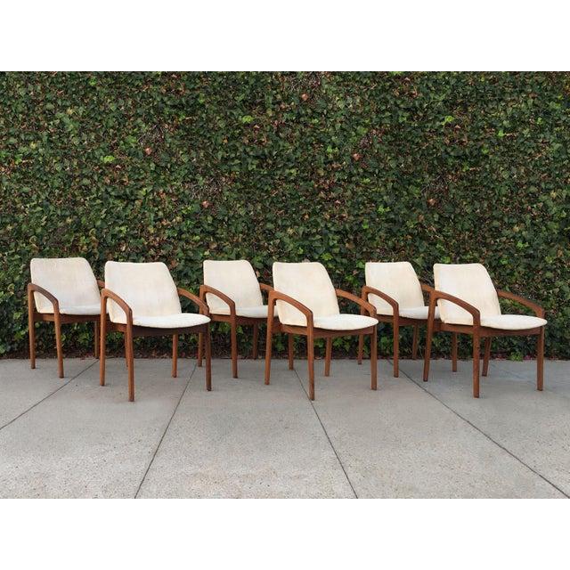 Kai Kristiansen for Korup Stolefabrik Mid-Century Modern Carver Rosewood Dining Chairs - Set of 6 - Image 7 of 7