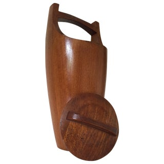 Teak Ice Bucket by Jens Quistgaard for Dansk