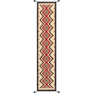 "Navajo Style Hand-Woven Runner - 2' 6"" X 12' 0"""