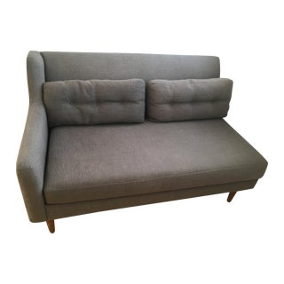 West Elm Grey Couch