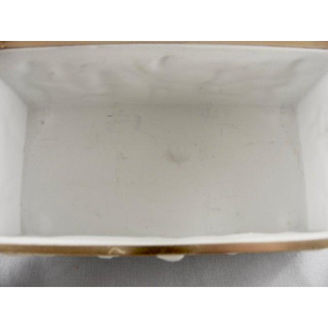 Limoges France White Bisque Dresser Box - Image 9 of 10