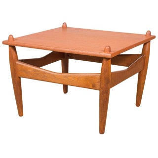 Illum Wikkelso Teak Danish Side Table