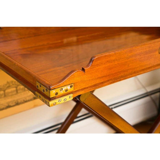 Antique Butler's Tray Table - Image 5 of 10